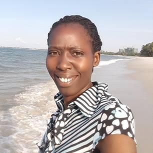 World-Vision-Mitarbeiterin Irene Ojuok