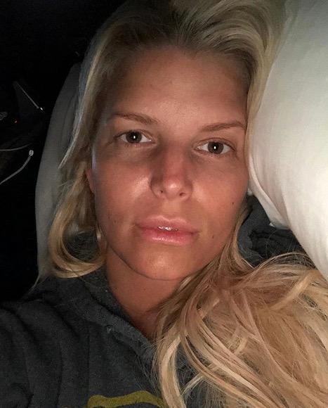 Stars ohne Make-up: Jessica Simpson ohne Make-up