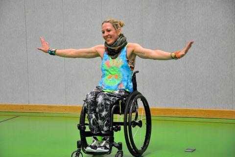 Zumba im Rollstuhl: Querschnittsgelämt und überglücklich