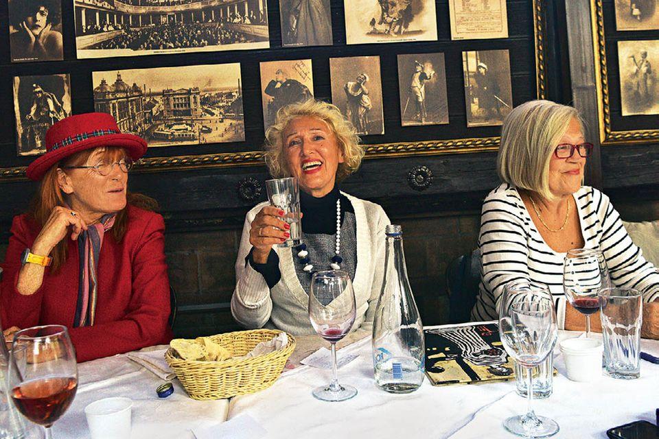 Belgrad-Tipps: Drei Frauen im Restaurant