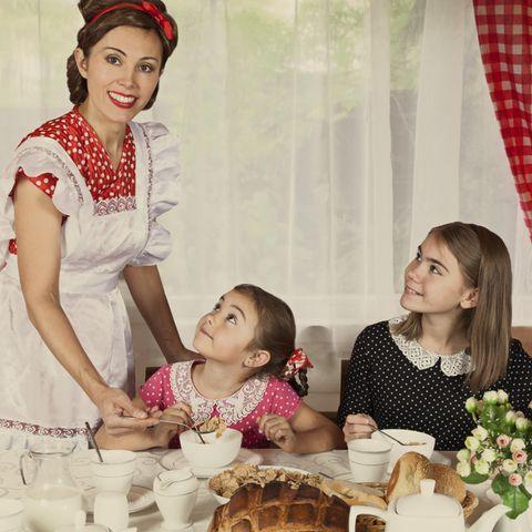 Muttertag: Mutter mit Töchtern