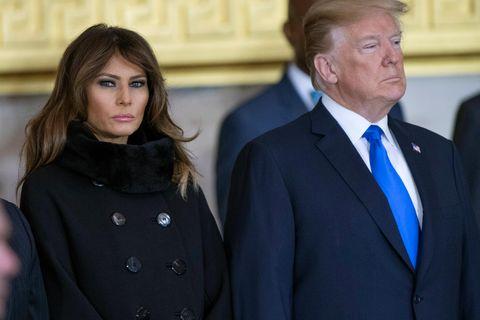 An Muttertag! Donald Trump demütigt Melania in aller Öffentlichkeit