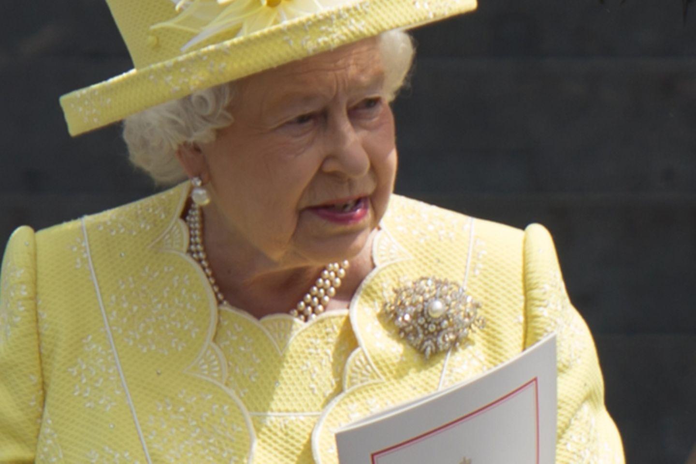 Queen entsetzt: Elizabeth guckt pikiert