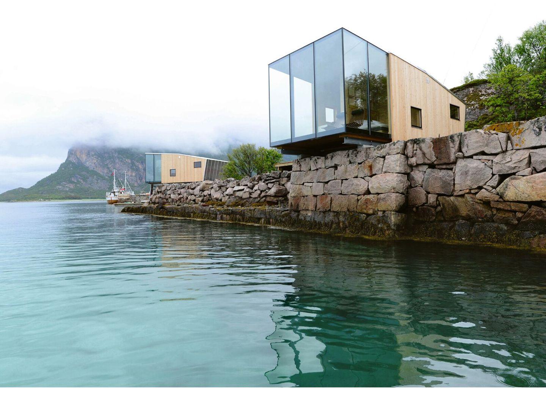 Ferienhäuser am Meer: Steigen, Norwegen