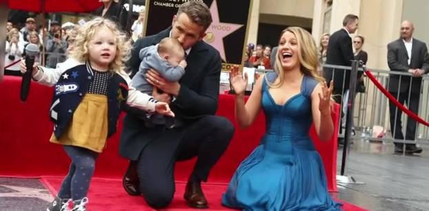 Ryan Reynolds mit Familie