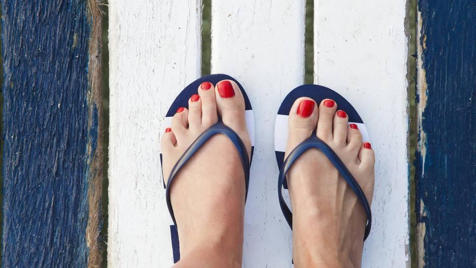 Welche Form hast du? Das sagen deine Zehen über dich aus