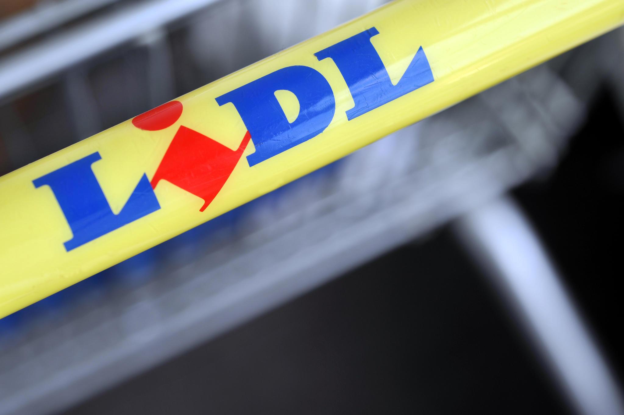 Lidl-Einkaufswagen