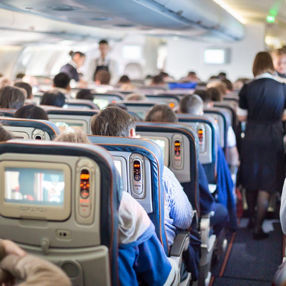 Komischer Geruch im Flugzeug