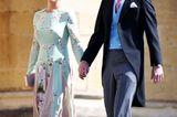 Die schwangere Pippa Middleton und ihr Ehemann James Mathews stehen natürlich auch auf der Gästeliste.