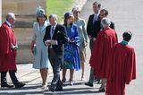 Auch die restlichen Mitglieder der Middleton-Familie freuensich auf die Trauung.