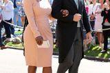 Tennis-Star Serena Williams ist ebenfalls angekommen.