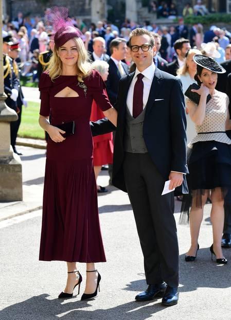 'Suits'-Star Gabriel Macht und seine Ehefrau, Schauspielerin Jacinda Barrett,ließen sich das Event ebenfalls nicht entgehen.