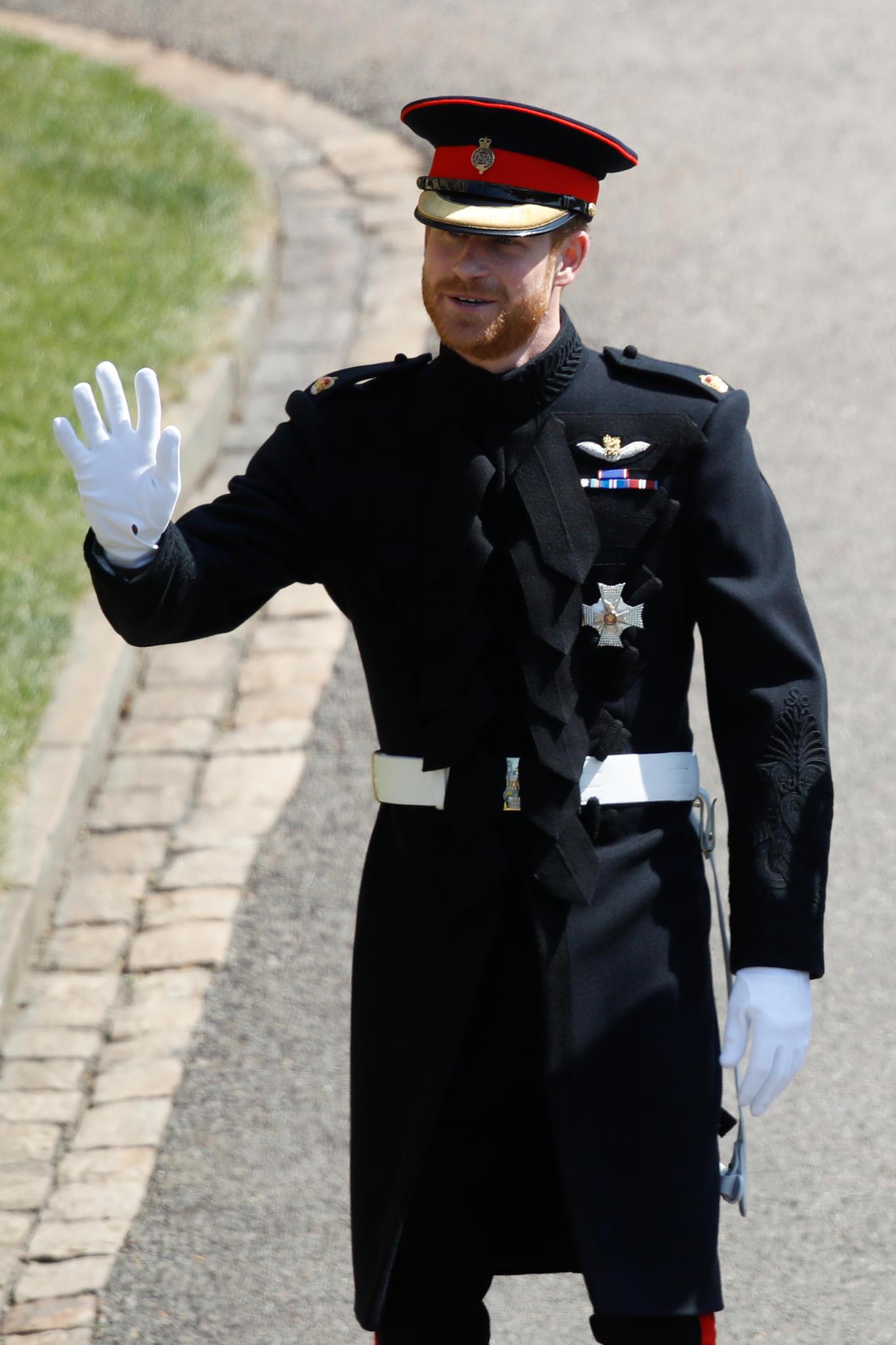 Prinz Harry steht die Freude ins Gesicht geschrieben.