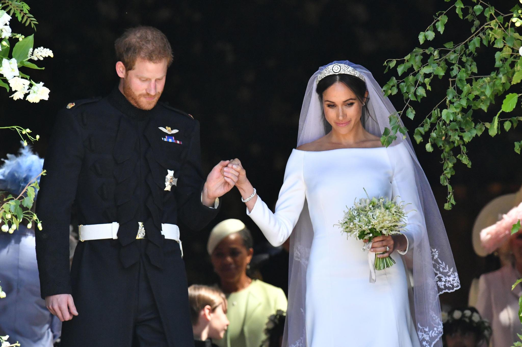 Dürfen wir vorstellen? Der Herzog und die Herzogin von Sussex.