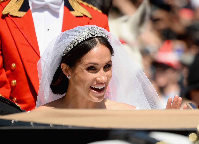 So strahlt nur eine Braut.