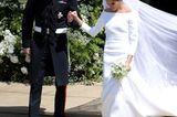 Die schönste von allen: Meghan Markle mit ihrem frischgebackenen Ehemann Prinz harry