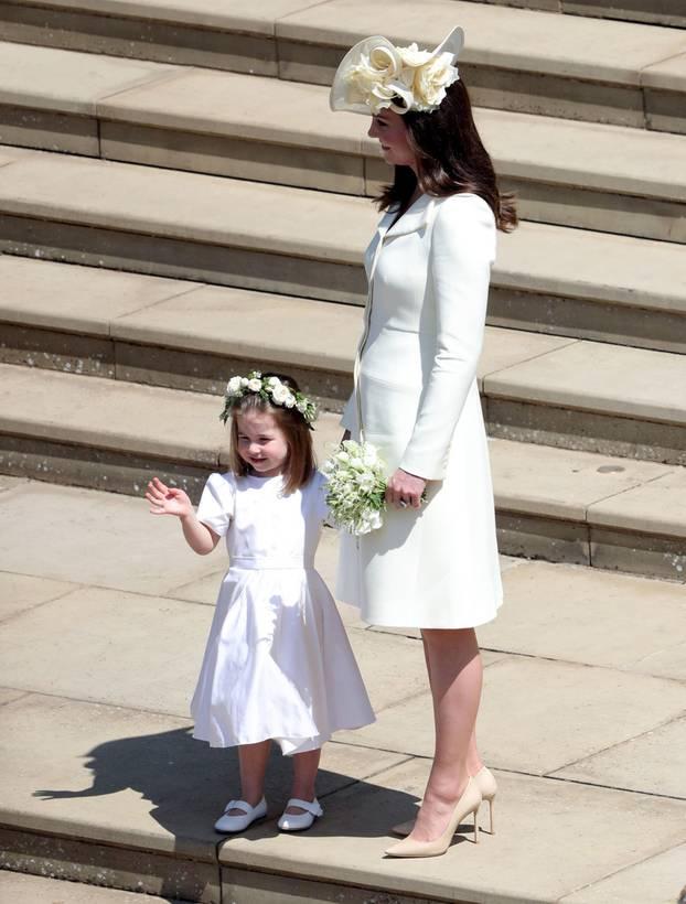Herzogin Kate und die kleine Charlotte