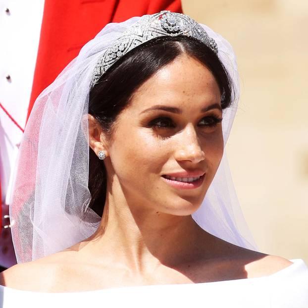 Meghan Markle: Das müsst ihr über Meghans Brautkleid wissen ...