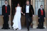Meghan und Harry auf dem Weg zur Party
