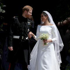 Rührende Geste! Harry & Meghan verschenken Hochzeitsblumen an Hospiz-Patienten
