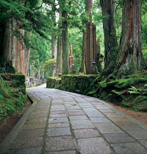 Japan: Friedhof Okuno-in in Koya-san