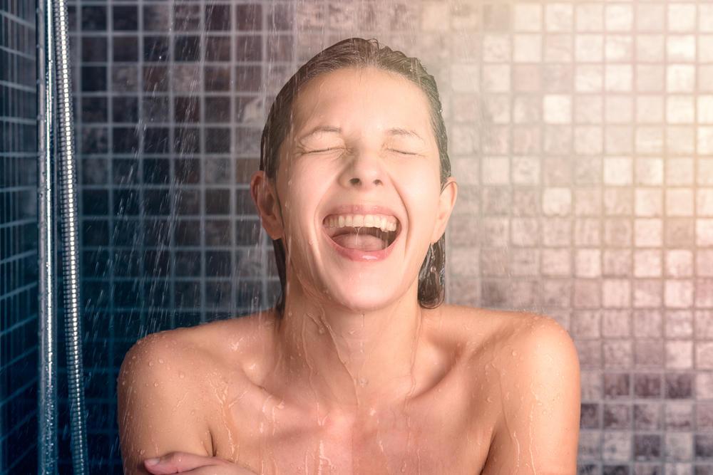 Geile Mädels im Duschen