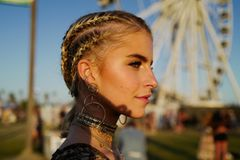 Frisuren bei Hitze: Caro Daur loves Cornrows