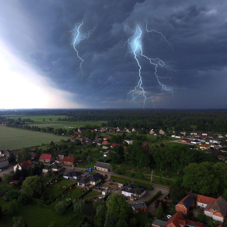 Aktuelle Warnung: Extreme Unwetter im Anmarsch