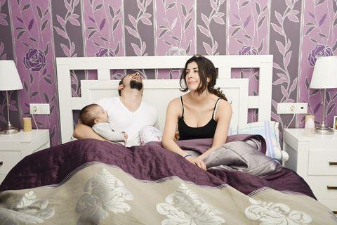 Warum Mamas am Wochenende ausschlafen sollten