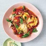 Tortelli mit Tomatenragout