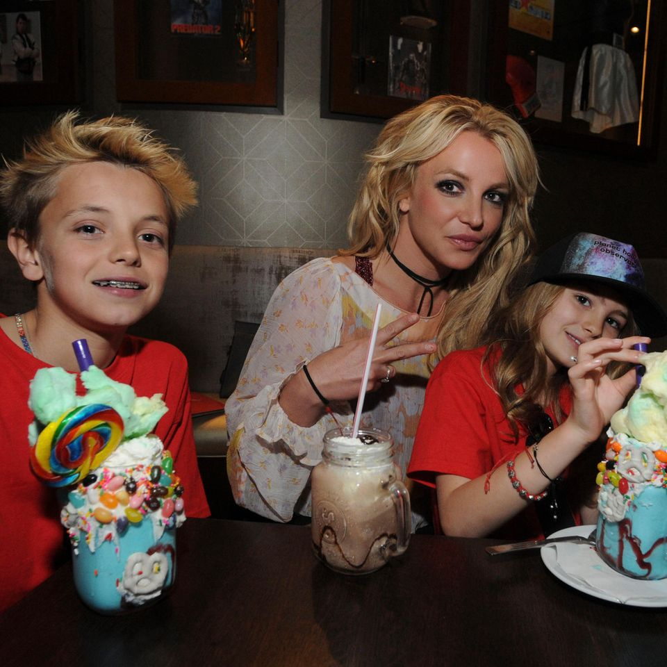 Sean und Jayden James haben ihre Mama Britney Spears schon eingeholt