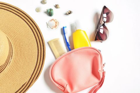 Beauty-Produkte zum Verreisen