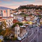 Athen: Athens Straßen von oben