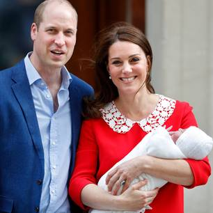 Taufe von Prinz Louis: William & Kate