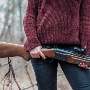 Jagende Frauen