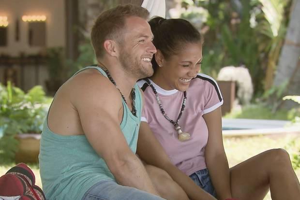 Philipp und Pam finden sich geil. Oder so!