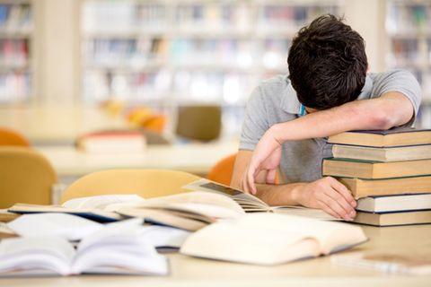 Frau fälscht Uni-Absage: Symbolbild Student