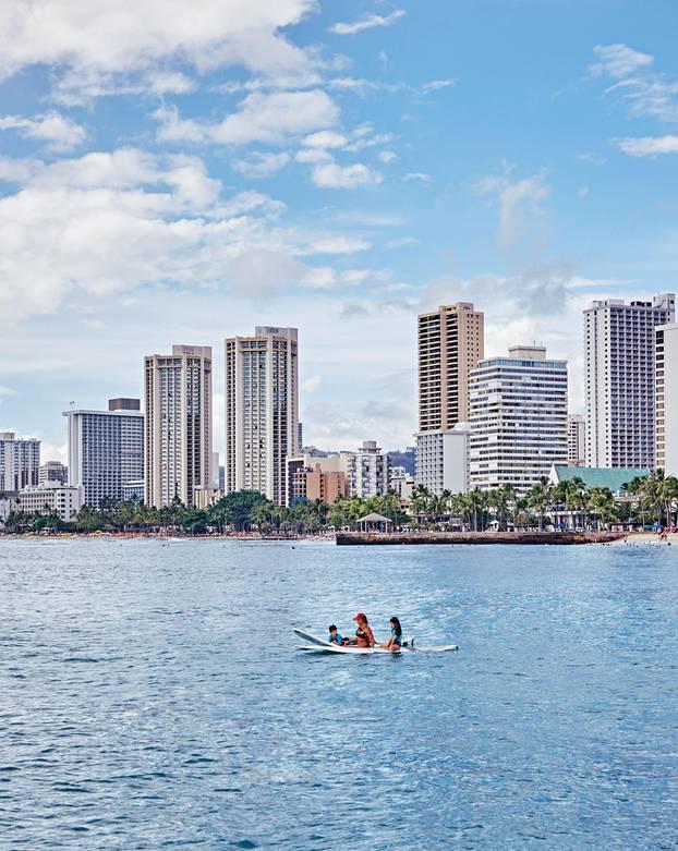 Hawaii Reisetipps: Skyline von Waikiki