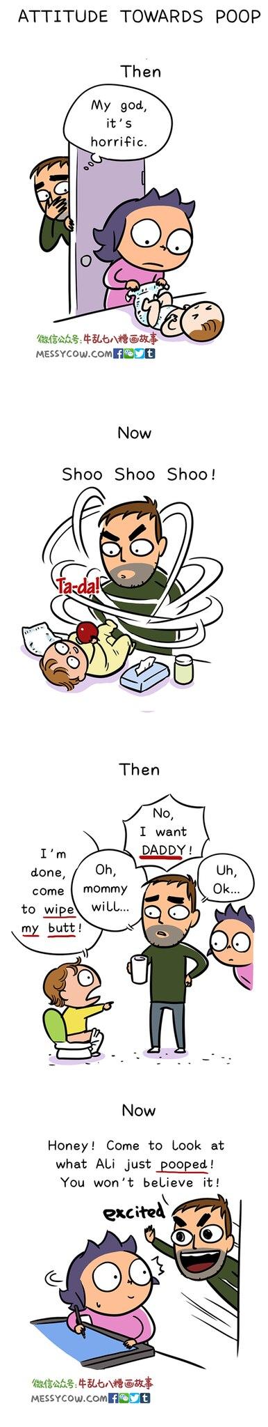 Zum Schießen! Comics zeigen die Wahrheit über das Leben als Vater