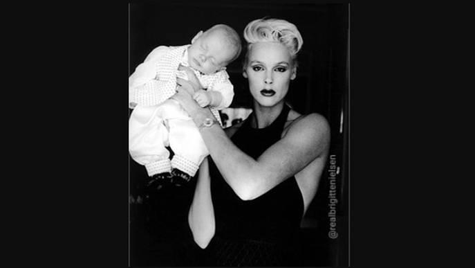Brigitte Nielsen Baby