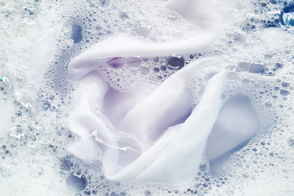 Polyester waschen: Polyester in der Waschmaschine
