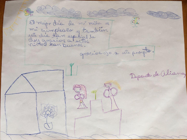 Brief von Alianay aus Kuba