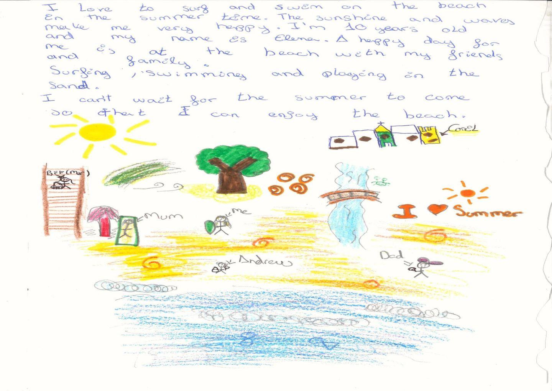 Brief von Elena aus Spanien