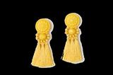 Ohrringe von H&M in Gelb