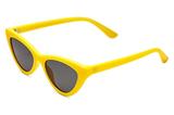 Stradivarius Sonnenbrille in Gelb