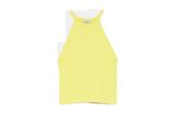 Neckholdertop von Zara in Gelb