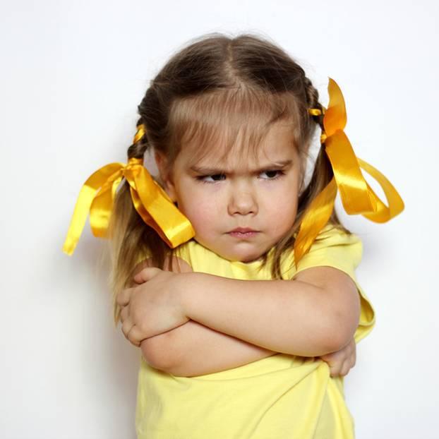 Wütendes Mädchen