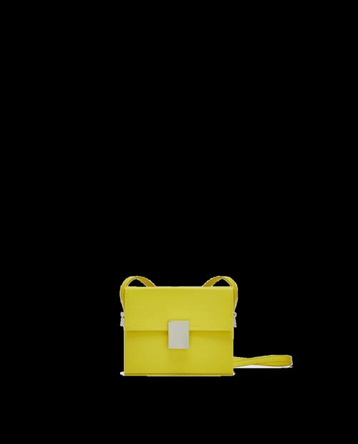 Gelbe Sommertasche von Zara