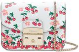 Furla Metropolis Umhängetasche mit Cherry-Print