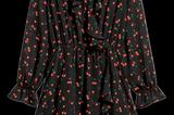 Wickelkleid von H&M mit Cherry-Print